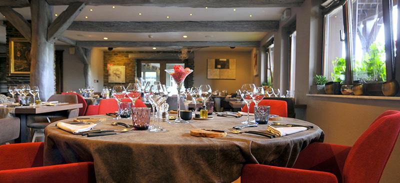 Gourmet Restaurant Ardennes Belgium Rochehaut Auberge De