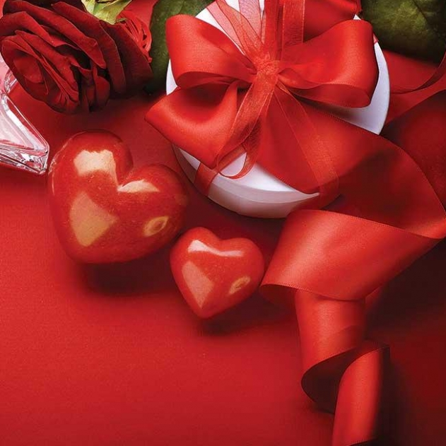 Special Saint Valentine's package on weekends